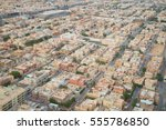 aerial view of riyadh downtown... | Shutterstock . vector #555786850