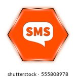 """sms button isolated. """"3d... 