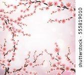 Realistic Japan Cherry Branch...