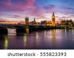 Houses Of Parliament At Dusk.