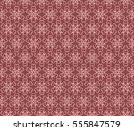 geometric flower. floral... | Shutterstock .eps vector #555847579