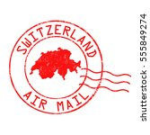 switzerland post office  air...   Shutterstock .eps vector #555849274