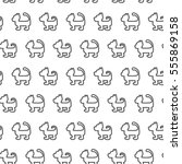 seamless vector pattern with... | Shutterstock .eps vector #555869158
