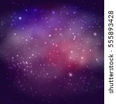 background of the universe.... | Shutterstock .eps vector #555893428