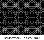 seamless geometric pattern.... | Shutterstock .eps vector #555922000