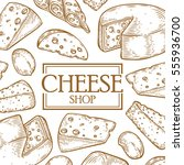 Cheese Shop Milc Organic Vector ...
