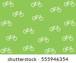 flat design bicycle vector... | Shutterstock .eps vector #555946354