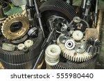 manufacturing  metal  machine... | Shutterstock . vector #555980440