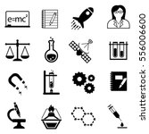 science  scientific discovery... | Shutterstock .eps vector #556006600