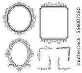 border and frame vector design... | Shutterstock .eps vector #556007260