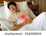 woman suffering from... | Shutterstock . vector #556008034