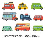 vans vehicle vector... | Shutterstock .eps vector #556010680
