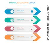 business  infographic  template ... | Shutterstock .eps vector #556037884
