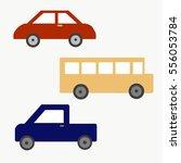 set of vehicles design... | Shutterstock . vector #556053784