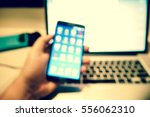 picture blurred  for background ... | Shutterstock . vector #556062310