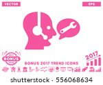 pink operator service message... | Shutterstock .eps vector #556068634