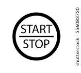 start stop engine button | Shutterstock .eps vector #556083730