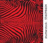 zebra print pattern. seamless... | Shutterstock .eps vector #556098604