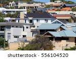 Roofs Of Houses In A Developed...