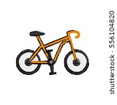 sport race bicycle icon vector... | Shutterstock .eps vector #556104820