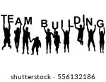 Team Building Concept With...