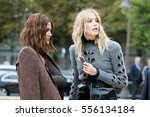 paris september 30  2016. elena ... | Shutterstock . vector #556134184