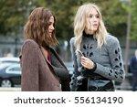 paris september 30  2016. elena ... | Shutterstock . vector #556134190