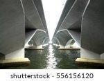 under the bridge highway... | Shutterstock . vector #556156120