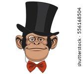 vector illustration of funny... | Shutterstock .eps vector #556168504