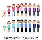 generations sequence concept... | Shutterstock .eps vector #556180729
