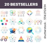 business infographics. charts ... | Shutterstock .eps vector #556192654