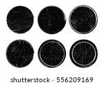 set of grunge post stamps... | Shutterstock .eps vector #556209169