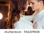 young couple in love  closeup | Shutterstock . vector #556209838