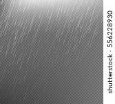 rain transparent template... | Shutterstock .eps vector #556228930