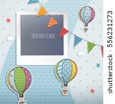 holiday card design. | Shutterstock .eps vector #556231273
