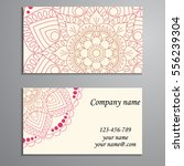invitation  business card or... | Shutterstock .eps vector #556239304