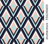 geometry zig zag vector pattern.... | Shutterstock .eps vector #556240603