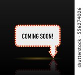 illustration of a coming soon... | Shutterstock .eps vector #556274026
