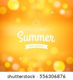 summer bokeh background | Shutterstock .eps vector #556306876