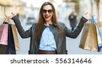 sale  shopping  tourism and... | Shutterstock . vector #556314646