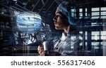 innovative technologies in...   Shutterstock . vector #556317406