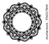 mandalas for coloring book.... | Shutterstock .eps vector #556317844