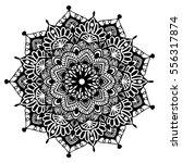mandalas for coloring book.... | Shutterstock .eps vector #556317874
