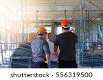 construction concepts  engineer ... | Shutterstock . vector #556319500
