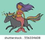 cute cartoon drawing of a dark...   Shutterstock .eps vector #556334608