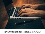 business women work with ... | Shutterstock . vector #556347730