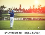 Golfers Hit Sweeping Golf...