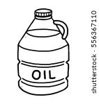 vegetable oil   cartoon vector... | Shutterstock .eps vector #556367110