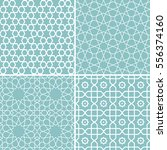 set of traditional geometric...   Shutterstock .eps vector #556374160