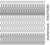 vector seamless pattern. black... | Shutterstock .eps vector #556374280